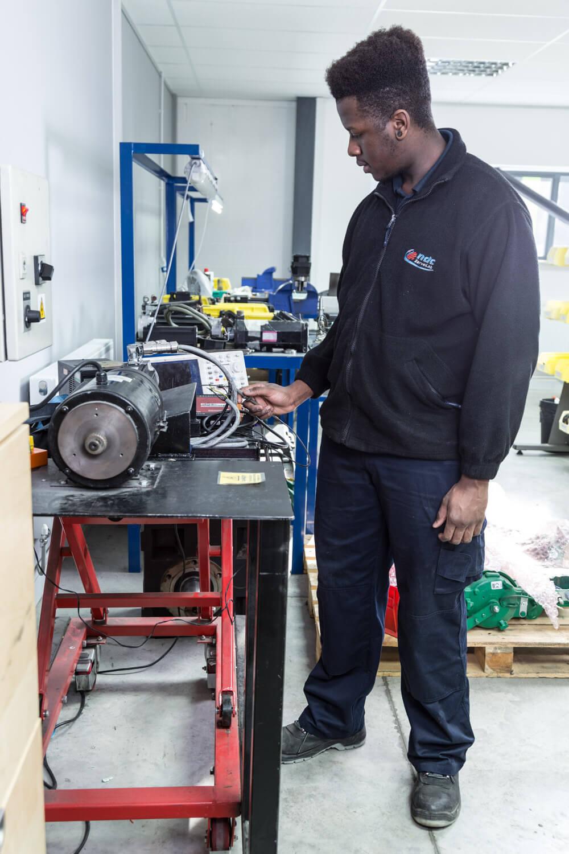 Servo motor testing cpm servolab for Bent creek motors inventory